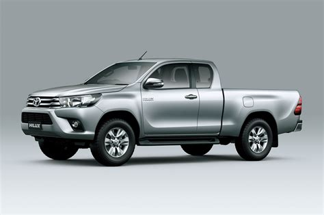 Toyota Hilux Generations Toyota Hilux Eighth Generation Cab Front Three Quarter