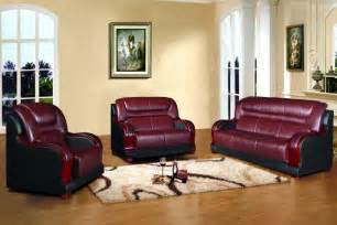 Leather Sofas With Wood Trim Traditional 100 Top Grain Leather With Wood Trim Sofa Set