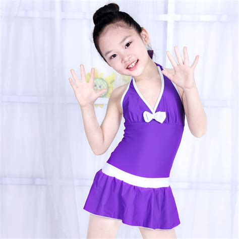 young girls swimwear age 13 2016 summer children girls swimwear child swimsuit bow hot