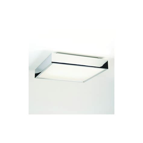 Square Bathroom Ceiling Light Astro Lighting 0821 Taketa Square Bathroom Ceiling Light In Chrome Lighting From The Home