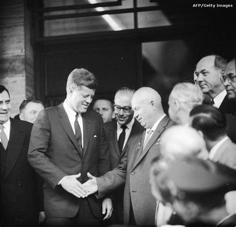 Jfk F Kennedy American President Usa Politics W Douglass handshakes through history amanpour cnn blogs