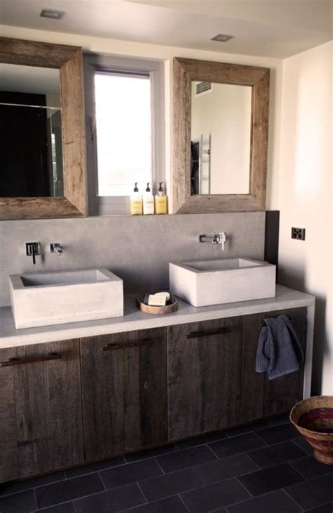 modern rustic bathroom vanity 23 best bathroom mountain chic images on pinterest bathroom half bathrooms and home ideas