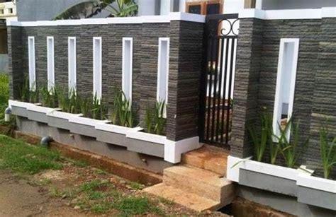 model pagar tembok minimalis bicara tentang membangun sebuah rumah   hal