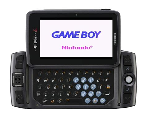 To Sidekick nintendo worked on gaming phone with sidekick creator in
