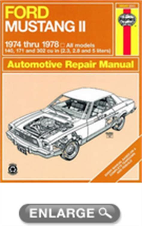 auto repair manual free download 1965 ford mustang navigation system ford mustang ii haynes repair manual 1974 1978 xxx36049