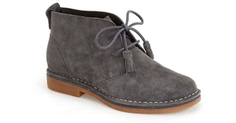 hush puppies s cyra catelyn boot hush puppies hush puppies cyra catelyn chukka boot in gray lyst