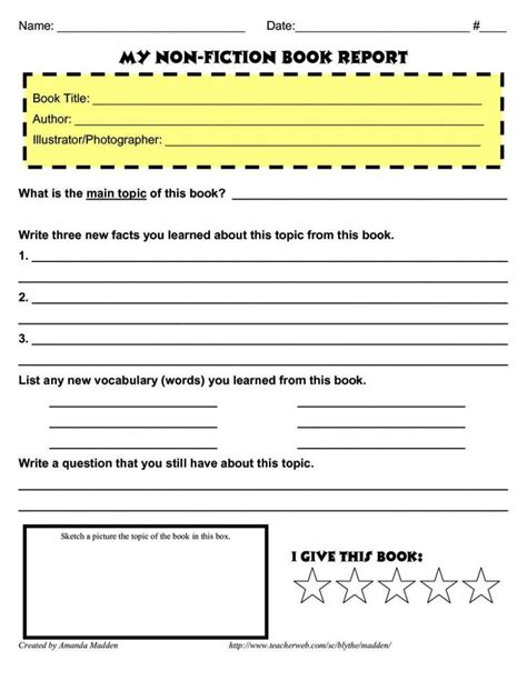 chapter book report template chapter book report template sletemplatess