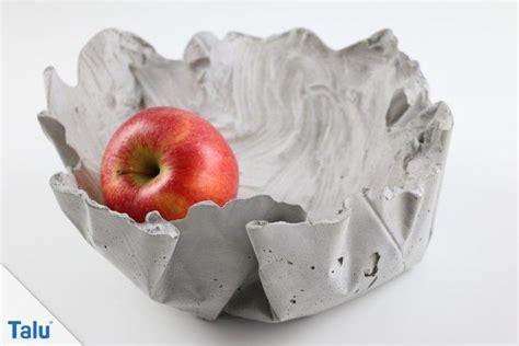 basteln mit beton deko aus beton kreative ideen talu de