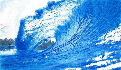 mom5kids sketch 3 waves blue green blue waves drawing www imgkid the image kid