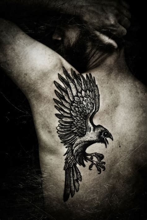 norse raven tattoo 22 best norse tattoos