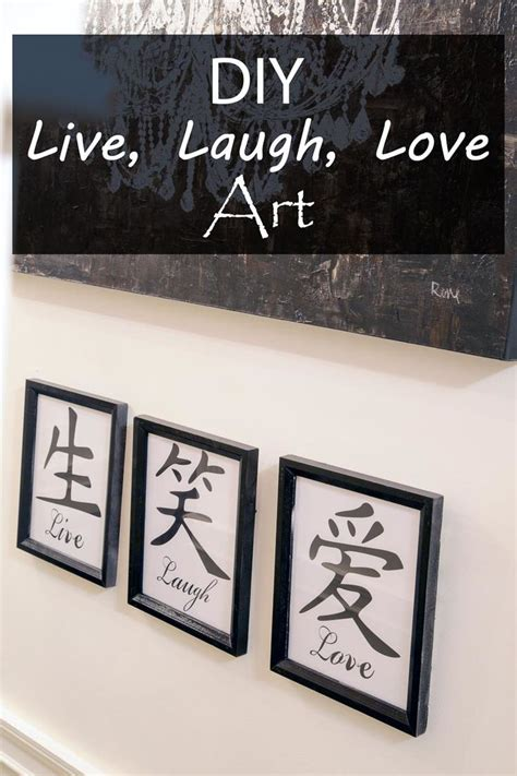 live laugh love art diy live laugh love art love art art and love