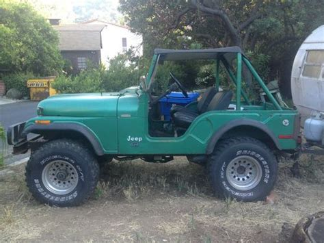 1974 Jeep Cj5 For Sale Purchase Used 1974 Jeep Cj5 Original In Los Angeles