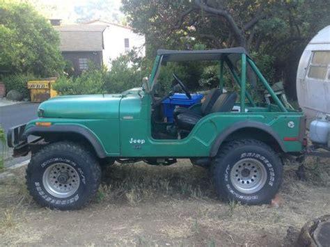 1974 Jeep Cj5 Purchase Used 1974 Jeep Cj5 Original In Los Angeles