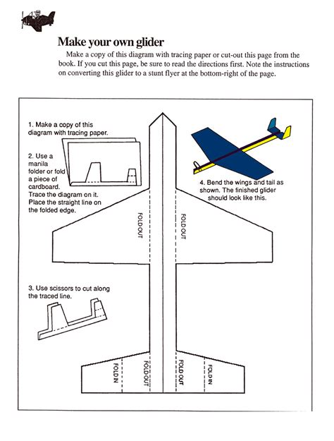 How To Make Gliders Out Of Paper - dan s interactive an interactive deisgn