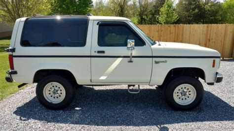 old car repair manuals 1988 ford bronco ii head up display 1988 ford bronco ii xl 2 9 v6 5 speed many new parts no rust bondo or repair for sale ford
