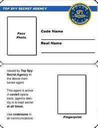 make id template secret badge template free printable search