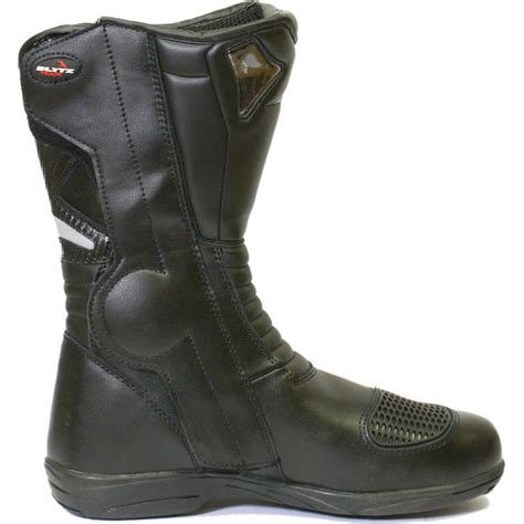 blytz track leather motorcycle boots clearance