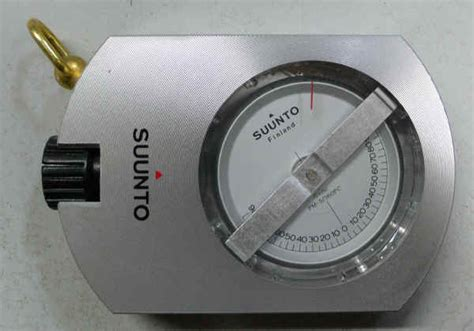 Suunto Clinometer Pm 5 360pc Suunto Pm5 Suunto Pm 5 suunto クリノメーター 有 山口商店