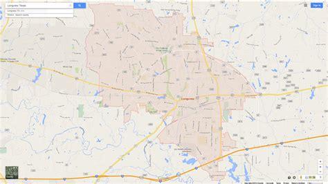 longview tx map longview map