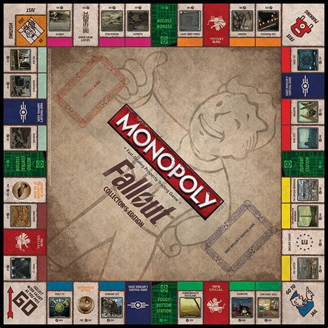 When Can You Buy Houses In Monopoly by The Bethesda Store Monopoly Fallout Collector S Edition