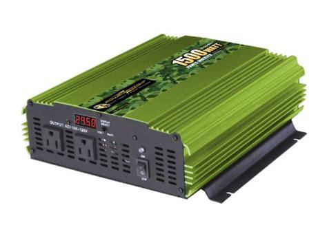 Power Inverter Suoer 1500 Watt power bright ml1500 24 1500 watt 24 volt dc to 110 volt ac