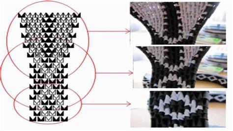 origami 3d cobra tutorial 3d origami snake head tutorial youtube