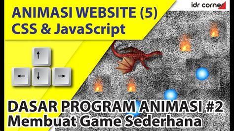 cara membuat game quiz sederhana animasi website css dan javascript 5 membuat game