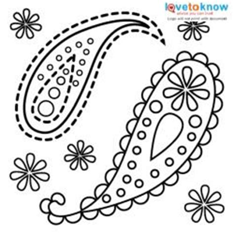 Free Stencils For Craft Projects Lovetoknow Paisley Stencil Templates Free