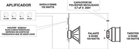o que é capacitor de corneta ligando alto falantes corretamente 193 udio e eletr 244 nica