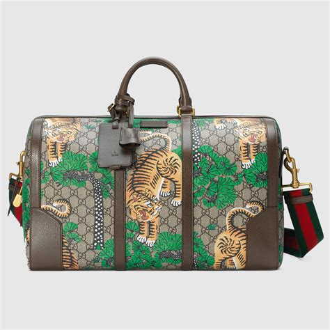 Gucci Broche Gg Leather Ss17 Bag 865 gucci bengal tiger holdall lyst