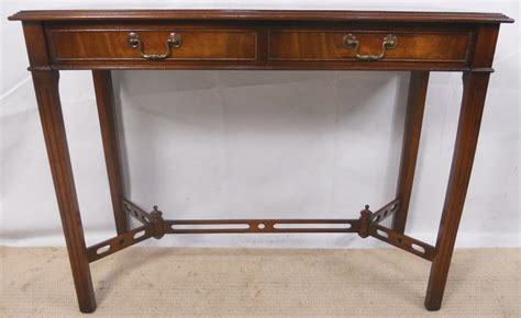 Mahogany console table in antique georgian style sold