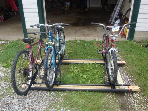 is there a bike rack that i can place on pop up