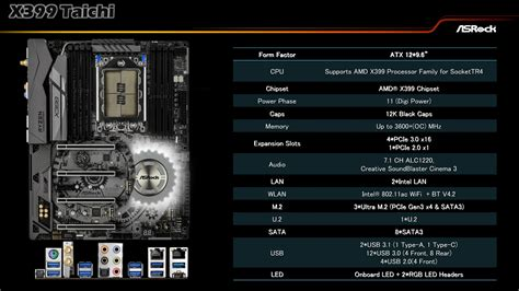 Best Seller Asrock Fatal1ty X399 Professional Gaming Tr4 Amd asrock x399 taichi y fatal1ty x399 professional gaming
