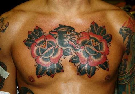 21 bold flower tattoos on men tattoo me now