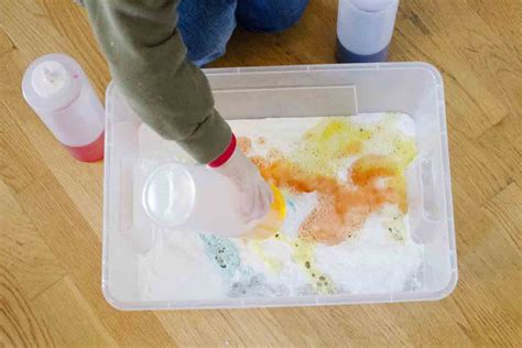 baking soda and bubbles science experiment the colorful fizz simple toddler science busy toddler