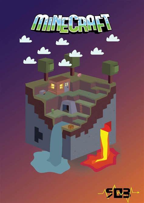 fan craft minecraft poster by robdutch on deviantart