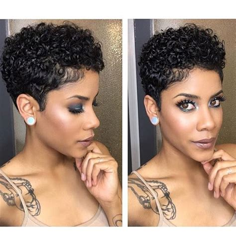 shortcuts for black women with thin hair best 25 short natural haircuts ideas on pinterest