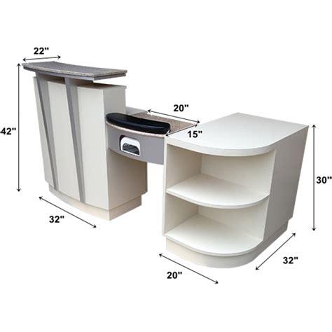 Nail Desks by Salon Furniture Reception Desk With Manicure