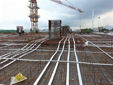 post tensioning  building slab beam tmg