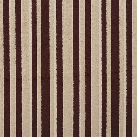 upholstery fabric new york city b0760c brown and taupe striped cut velvet upholstery fabric