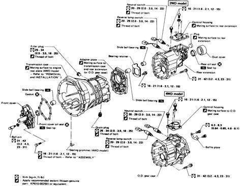 nissan d21 transfer diagram nissan free engine