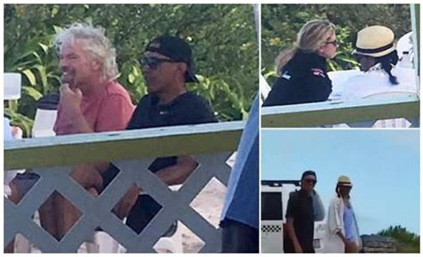 necker island obama the obamas slum it up in the hood on branson s private