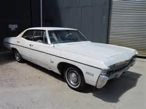 1968 chevrolet impala 4 door ht lhd 327 t400
