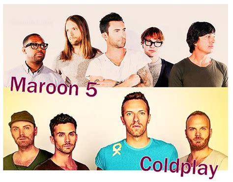 coldplay vs maroon 5 blog de les stars en mode vs by vanessa c skyrock com