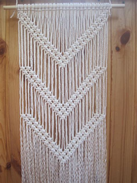 modern wall hanging macrame wall hanging simple macrame wall wall decor