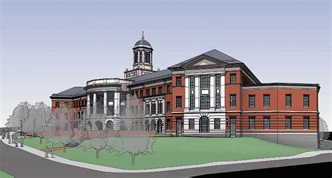 liberty university construction religion hall demolition begins paving way for new school