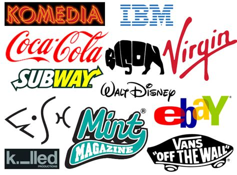 design font based logo 4 reasons to use custom typography for your brand