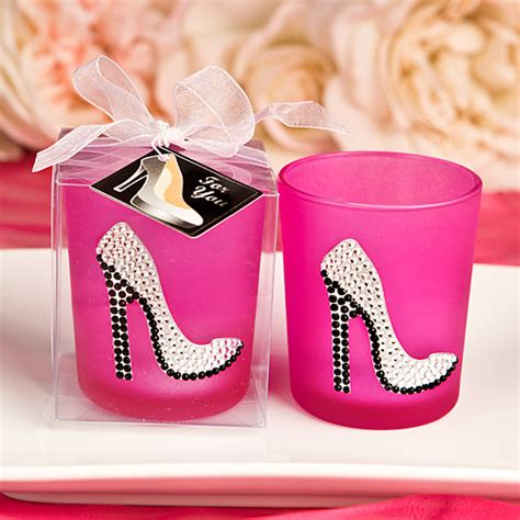 Black Glossy 3d Ribbon Heels Shoes gorgeous shoe candles high high candle favors
