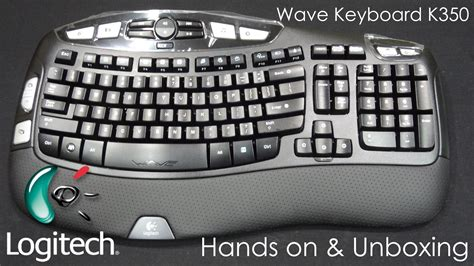 Wireless Keyboard K350 image gallery logitech k350