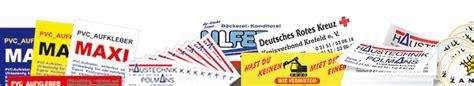 Dhl Aufkleber Online Bestellen by Pvc Aufkleber Im Digitaldruck Wetterfest Von H B Werbeservice